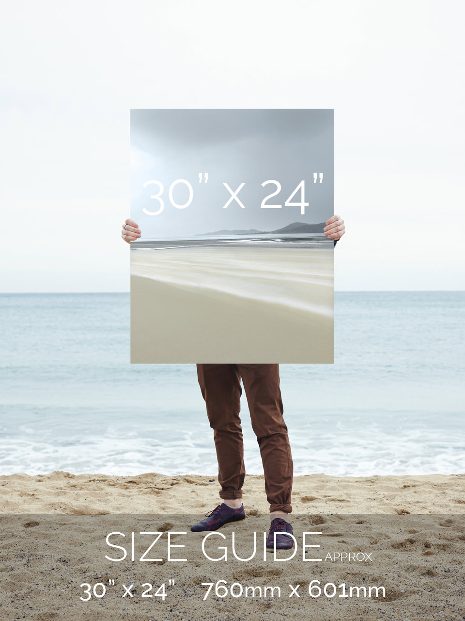 Art Print Size 30x24