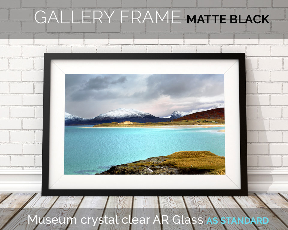 Art Print Frame Matte Black