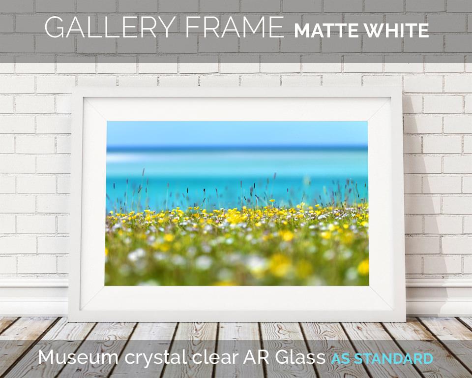 Art Print Frame Matte White