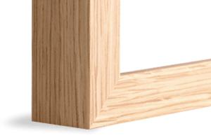 Natural Oak Frame