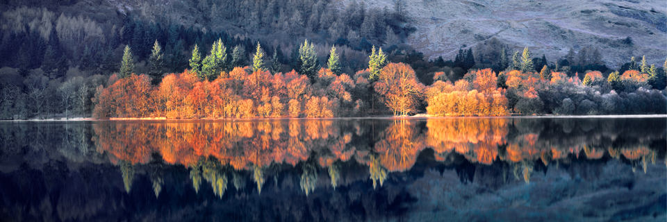 Ian Lawson - Red Morning Light (Loweswater)