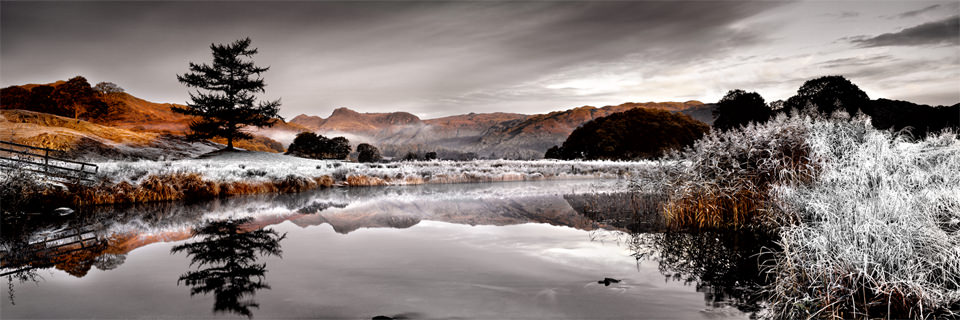 Ian Lawson - Waiting Winter Vale (Vale of Brathay)